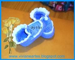sapatinhos (Vivi - Israel) Tags: crochet crocheted sapatinhos crochê