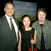 Max and Lillie Larsen with Jessica Qiu
