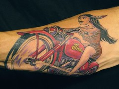 The world 39 s best photos of nativeamerican and tatt for Indian motorcycle tattoo