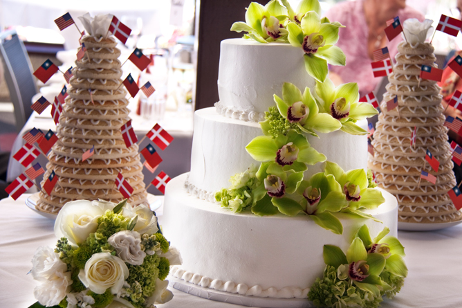 Danish Wedding cake