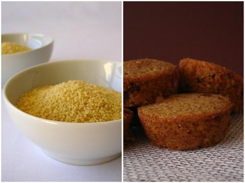 Little couscous cakes