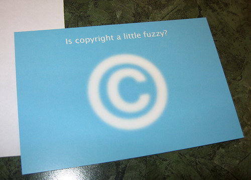 Is copyright a little fuzzy?