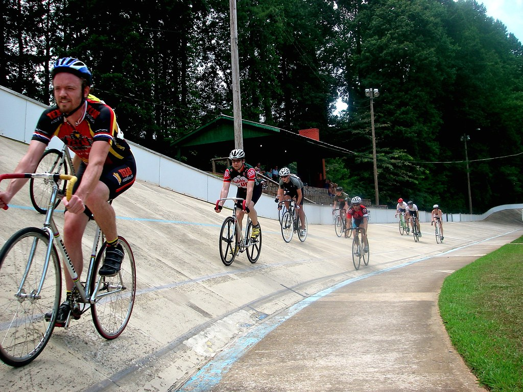 VeloCity Atlanta - No Brakes Atlanta - Cyclehawk - Dick Lane Velodrome