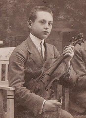 C.KERN IN 1908 (richie 59) Tags: usa film outside us blackwhite europe kern violin strings immigrants blacknwhite oldpicture olddays oldtime 1900s 2000s mygrandfather circa1908 blackwhitepictures blackwhitepicture picturescan richie59