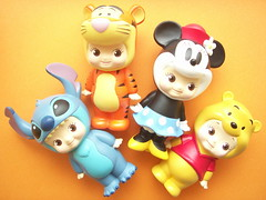 Kawaii Kewpie Dolls Cosplaying Disney Characters Cute Japan (Kawaii Japan) Tags: cute smile animal japan asian fun toy mouse happy japanese costume doll stitch cosplay decoration rubber disney mascot collection plastic pooh kawaii winniethepooh characters minnie tigger collectibles kewpie cosplaying kawaiishopping kawaiishop kawaiishopjapan