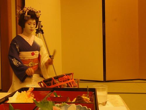 Geisha y taico