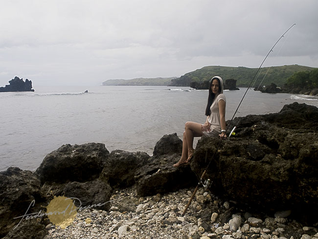 Shoot at the Marine Sanctuary in Batanes