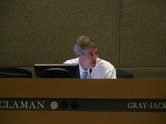 Matt Claman at the July 7 Assembly meeting - voted yes on AO 64