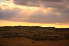 Sunset at the Chilean prairies (GlossyEye.) Tags: world chile travel original sunset patagonia sun nature beauty composition landscape photography la photo nikon exposure chili shot image landscaping group hills photograph prairies fa turism sightseen differenza  lamicizia nikond40  lamiciziafaladifferenzatheoriginalgroup picnikorpicnic