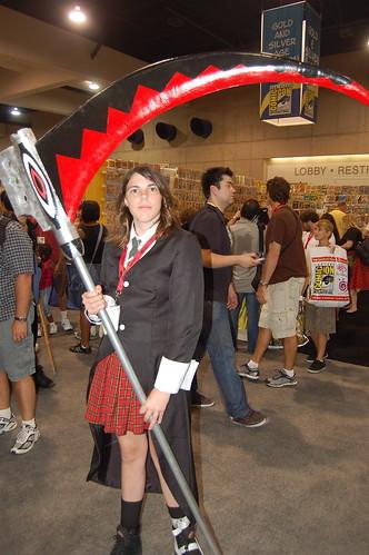 Comic Con 2009: Anime Scythe