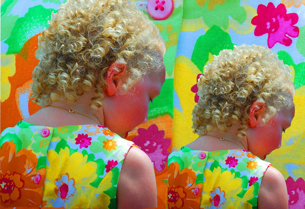 Fading little girl memories-Motif #1-1-054
