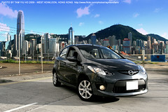 M2@West Kowloon (RAYMOND PHOTO - ONEPLUS STUDIO) Tags: hongkong mazda2 raymondtam