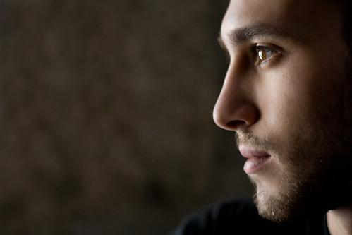 フリー画像| 人物写真| 男性ポートレイト| 外国人男性| イケメン| 横顔|      フリー素材|