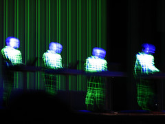 malha matrix (laconics) Tags: show blue brazil green brasil concert saopaulo led sp laser radiohead krafwerk justafest chacaradojockey