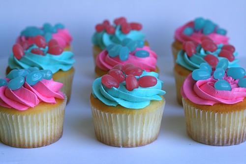 Baby Bean Cupcakes