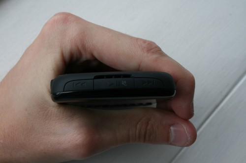 El nuevo Curve 8520 es el primer Blackberry  en integrar el Trackpad