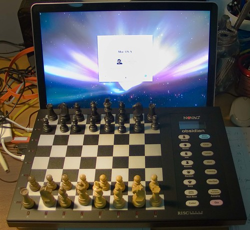 New Chess Computer: Novag Obsidian