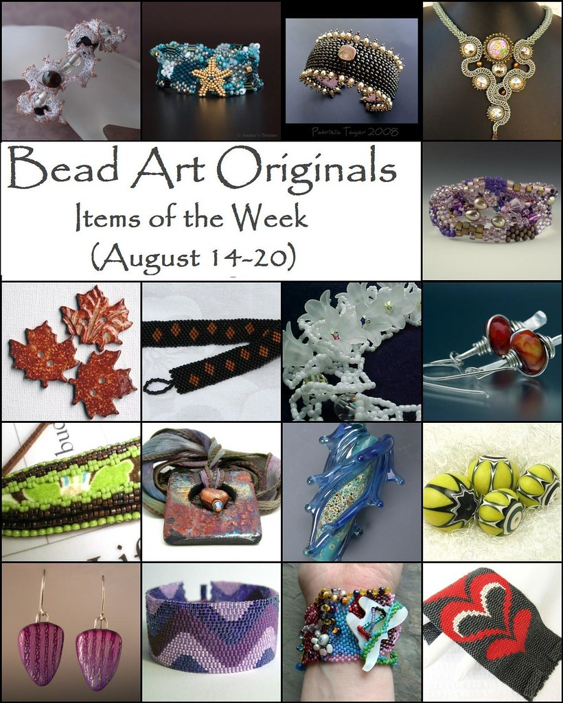 Bead Art Originals Items of the Week (8/14-8/20)