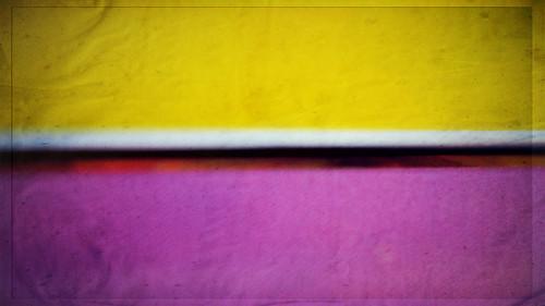 Yellow + Purple:  July 8, 2009