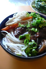 ,  Soy Bean Paste Noodle (11) Tags: food mushroom chinesefood chinese homemade noodle parsley  greenonion beansprout