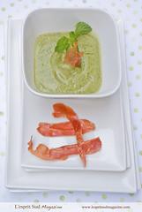Summer zucchini cream (Scrumptious Venus) Tags: summer cold recipe soup healthy vegetable zucchini gazpacho lespritsudmagazine gastronomymagazine
