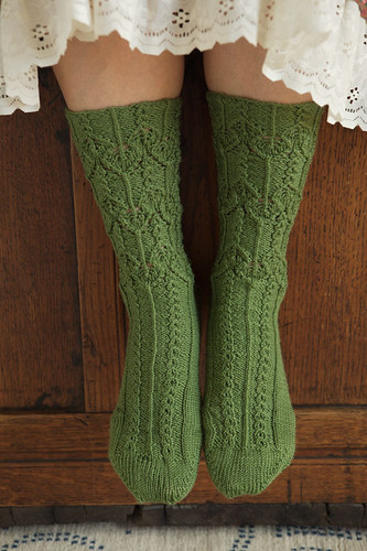 Knitting Pattern Books For Socks : WEBS Yarn Store Blog   Book Review   Knitted Socks East and West