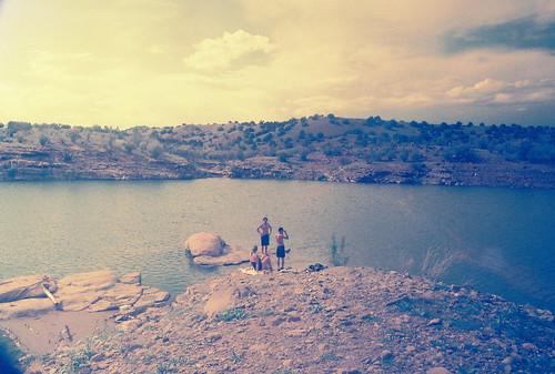 lake albuquiu, new mexico