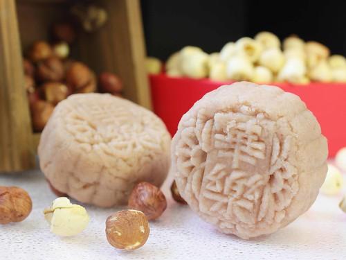 Hazelnut & Nata De Coco Mooncake