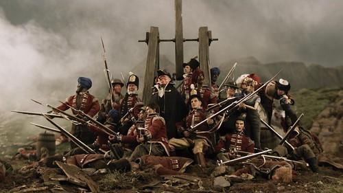in battle