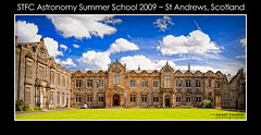 {STFC Astro #2} (AstroJ / Joseph) Tags: blue sky college clouds scotland lawn bluesky standrews oldbuilding d300 nikond300