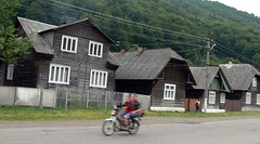 Houses of Us-Chorna (MyBukit) Tags: rural village ukraine motorbike easteurope ukrajina vesnice karpaty hucul carpathy zakarpattia ustcorna zakarpat uschorna