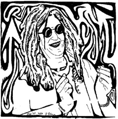 Maze Portrait of Howard Stern