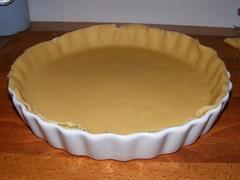 tarte de poireau au lard