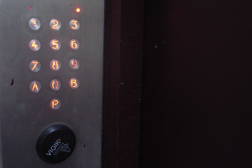 Paris keypad