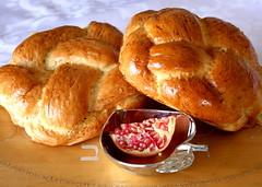 Rosh Hashana 5770 (Avital Pinnick) Tags: food bread published rosh hashanah roshhashana challah