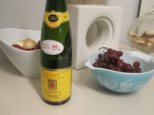 "Gentil ""Hugel"" wine from the SAQ - $16.05"