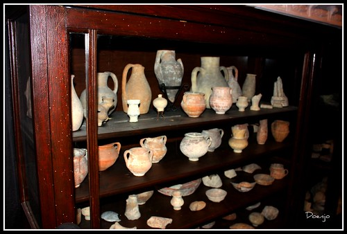 Vitrinas del Salón Hermes