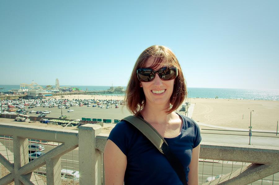 Me, in Santa Monica