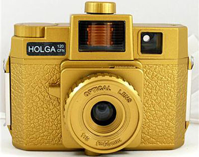 Gold Holga Yumminess