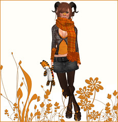 Fashion faun addict (Ys Ah) Tags: secondlife mothergoose freebies maitreya fashionsladdict