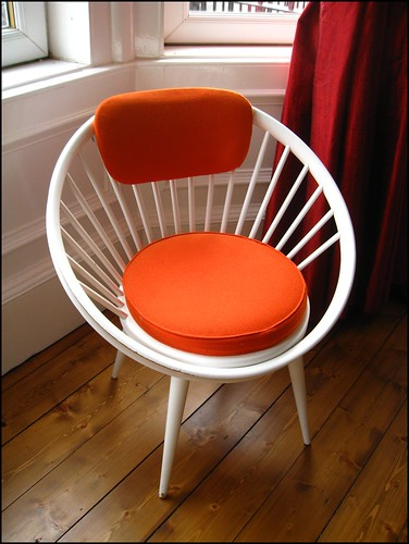 Vintage 1960s chair by Yngve Ekström