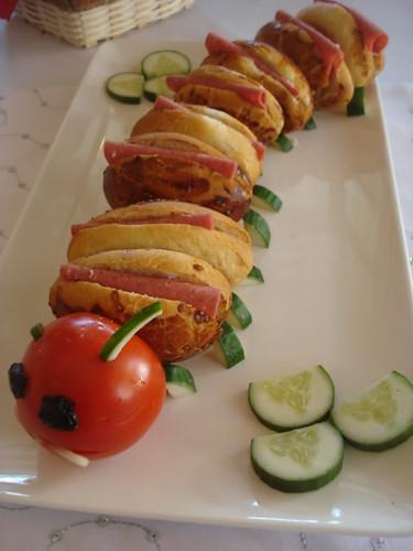 Tırtıl sandviçler
