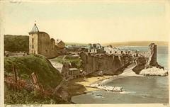 St Andrews Castle Photochrom Old Postcard 1943