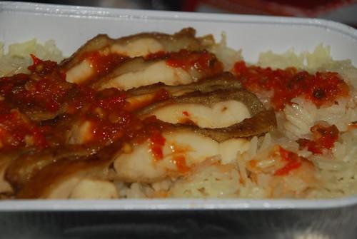 Chiken rice- airasia