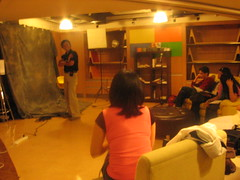 View Finder - Vic Sison teaching on modeling and posturing (renaissancestudiesassociates) Tags: view finder