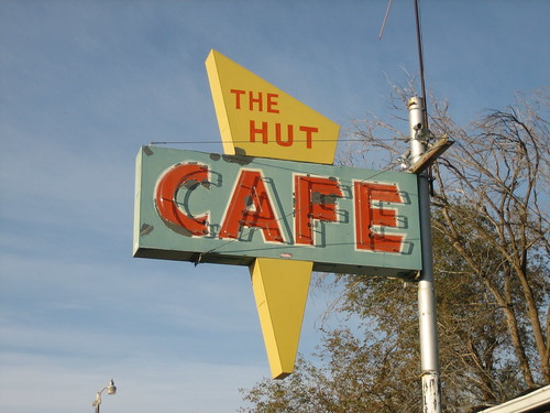 the Hut Cafe