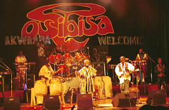 Osibisa Farewell Tour The National Theatre Accra Ghana West Africa May 7 1999 full group (photographer695) Tags: osibisa ghana world african music farewell tour accra 1999 the national theatre west africa may 7