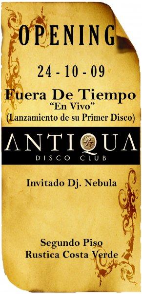 Opening - Antiqua