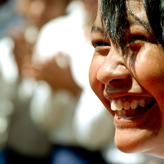 Cambodian Children Smile