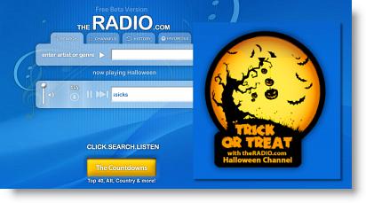 halloween theradio